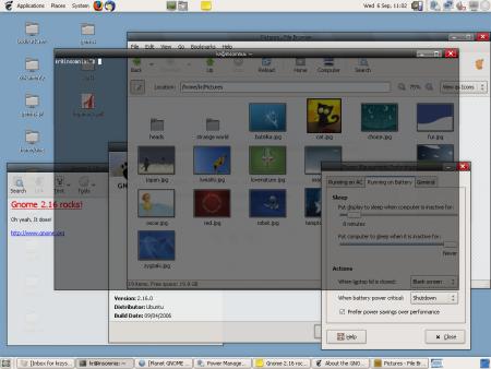 Gnome 2.16 - Nieuwe features en transparante terminal (kleiner)
