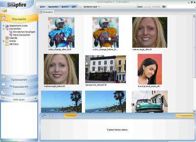 Corel Snapfire screenshot (klein)