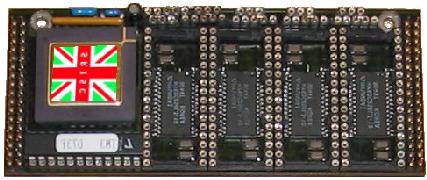 Simply RISC S1 Core-printplaat