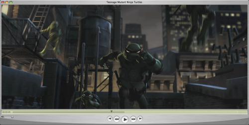 Apple QuickTime 7.1.3 - Teenage Mutant Ninja Turtles