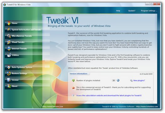 TweakVI screenshot (resized)