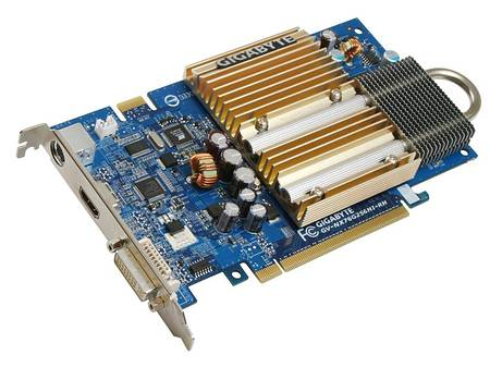 Gigabyte GV-NX76G256HI met HDMI