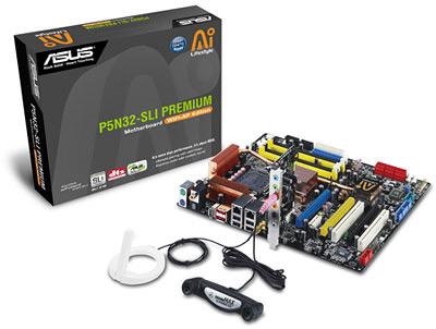 ASUS P5N32-SLI Premium/WiFi-AP moederbord