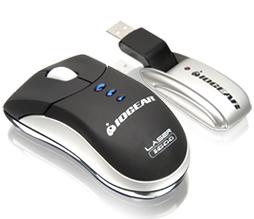 Iogear Germ Free Wireless Laser Mouse