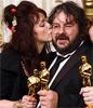 Oscar-winnaars Peter Jackson en Fran Walsh