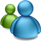 Microsoft Messenger for Mac 6.0 - logo