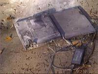 Tweemaal (!) uitgebrande Sony Vaio-laptop