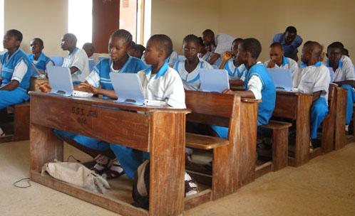 klas met Eduwise Classmate PC's