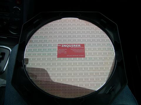 AMD quadcore wafer