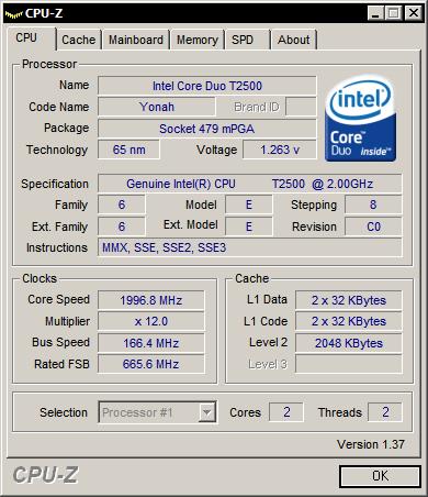 CPU-Z 1.37