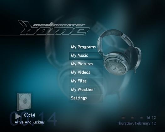 XboxMediaCenter screenshot (resized)