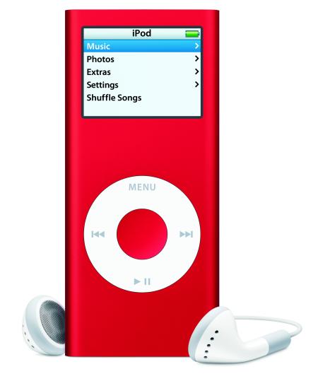 Apple iPod nano 'RED'
