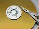 Uitsnede harddisk