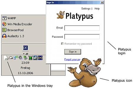 Gdrive Platypus