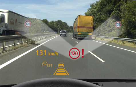 Siemens VDO Traffic Sign Recognition-systeem
