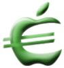 Apple-euro (groen)