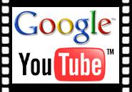 Google- en YouTube-logo's