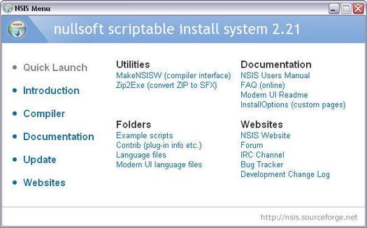 NSIS 2.21 screenshot (resized)