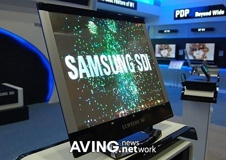 Amoled-scherm van Samsung