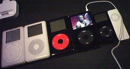 iPodjes bijelkaar