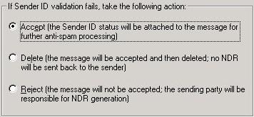 Sender ID-instellingen in Exchange