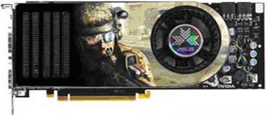 Prototype Asus G80-kaart EN8800GTX/GTS