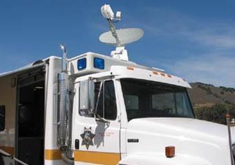 Satellietinternet in de file