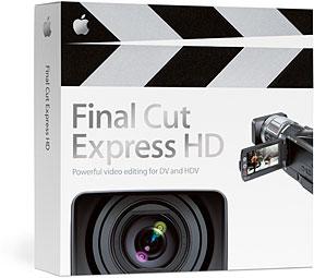 Apple Final Cut Express HD - box shot