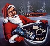 E-Kerstman met tweakcadeautjes