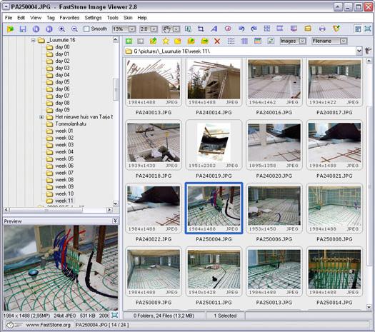 Faststone Image Viewer 2.8 screenshot (resized)