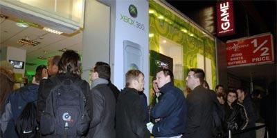 Xbox 360-wachtrij