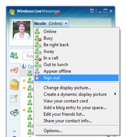 Microsoft Windows Live Messenger 8.1 beta