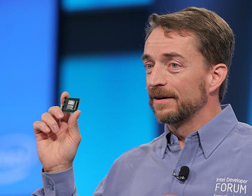 Intel quadcore in hand