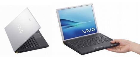 Sony Vaio G-series laptop