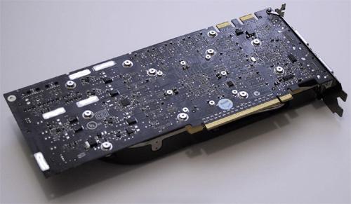 nVidia GeForce 8800 GTX - achterzijde