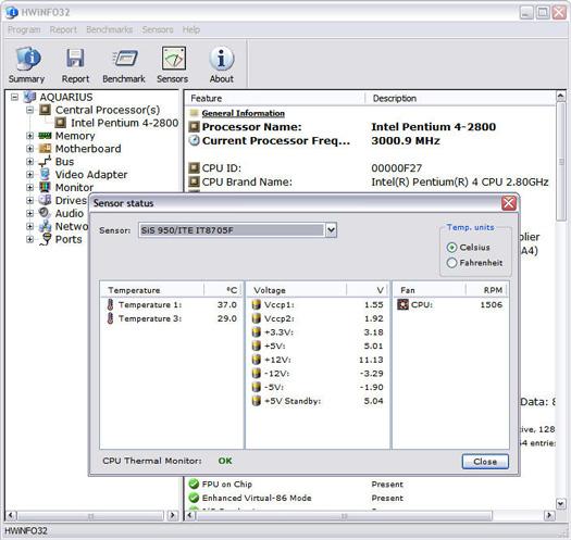 HWiNFO32 1.71 screenshot (resized)
