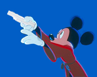 Mickey Mouse als 'Wiizard's Apprentice'