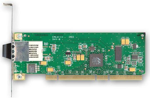 SysKonnect SK-9821 V2.0 voorzien van een Marvell Yukon 88E8010