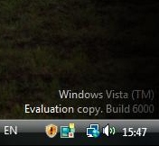 Vista-evaluatieversie