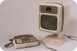 Antieke beeldtelefoon - Door Phillips en PTT ontwikkeld in 1974