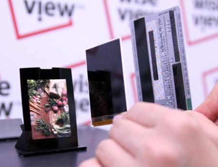 Samsung: 's werelds dunste lcd-scherm voor mobiele telefoons