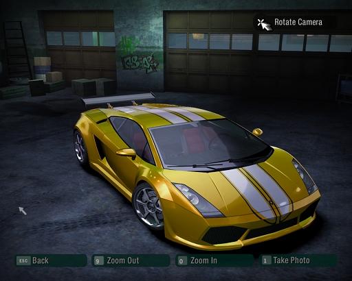 Need For Speed: Carbon - Gallardo van frankknopers