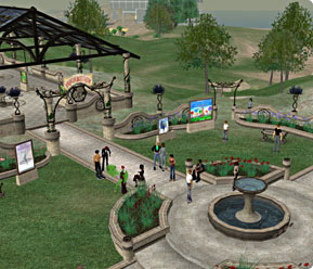 Second Life in-game screenshot