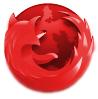 Rood Firefox-logo