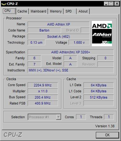 CPU-Z 1.38