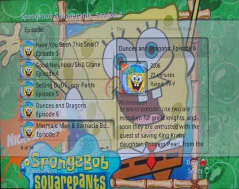 Spongebob Squarepants op de Xbox 360