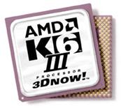 AMD K6-III met 3Dnow!-technologie