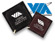 VIA chipsets met logo