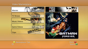 Xbox360 movie marketplace