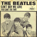 The Beatles - Can't Buy Me Love c/w You Can't Do That
